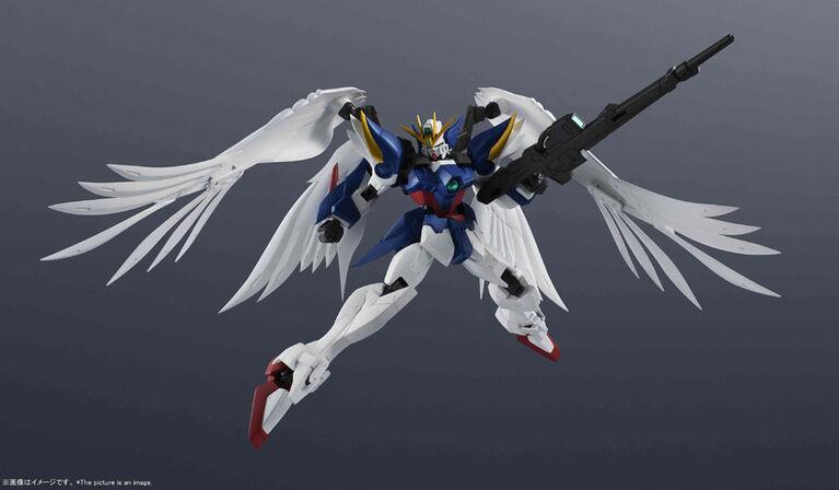 Tamashii Nations - Wing Gundam Zero-Bandai Gundam Uni. - English Edition