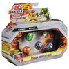Bakugan Geogan Brawler 5-Pack, Exclusive Mutasect and Stardox Geogan and 3 Bakugan Collectible Action Figures