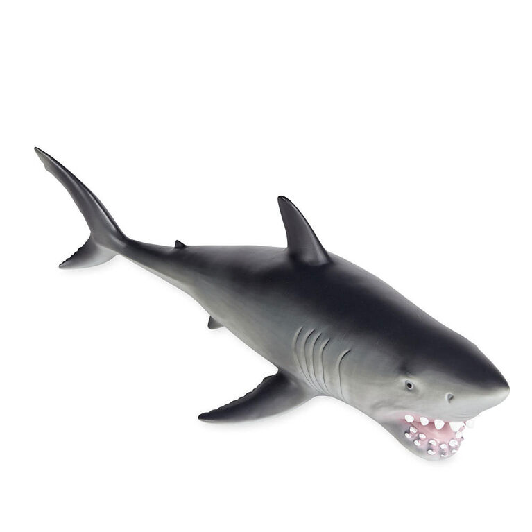 Animal Planet - Grand requin blanc en mousse - Notre exclusivité