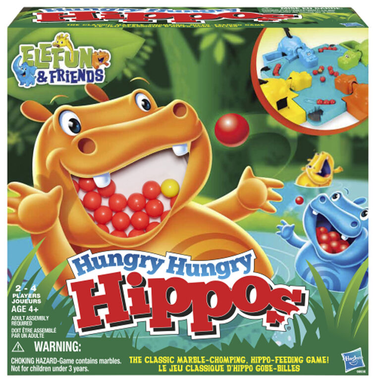 Hasbro Gaming - Hungry Hungry Hippos - styles may vary