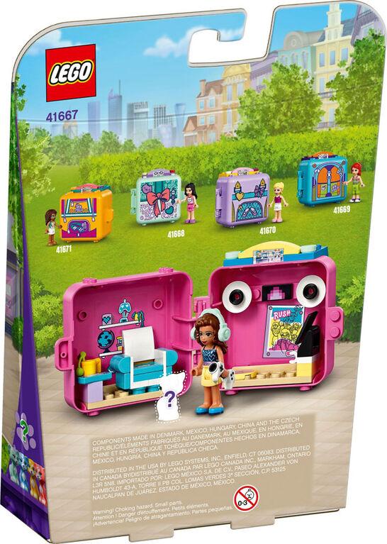 LEGO Friends Le cube de jeu vidéo d'Olivia 41667