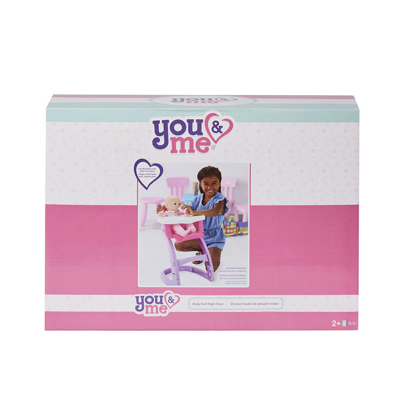 You & Me - Baby Doll High Chair