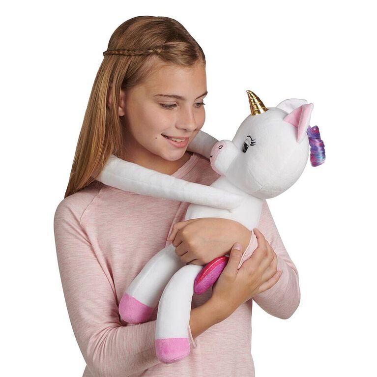 Fingerlings HUGS - Gigi (White) - Interactive Plush Baby Unicorn Pet - R Exclusive