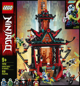 LEGO Ninjago Empire Temple of Madness 71712
