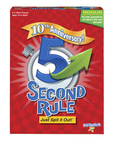 5 Second Rule 10th Anniversary Edition - English Edition