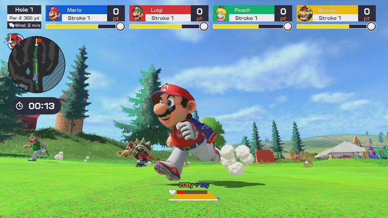 Nintendo Switch - Super Mario Rush Golf