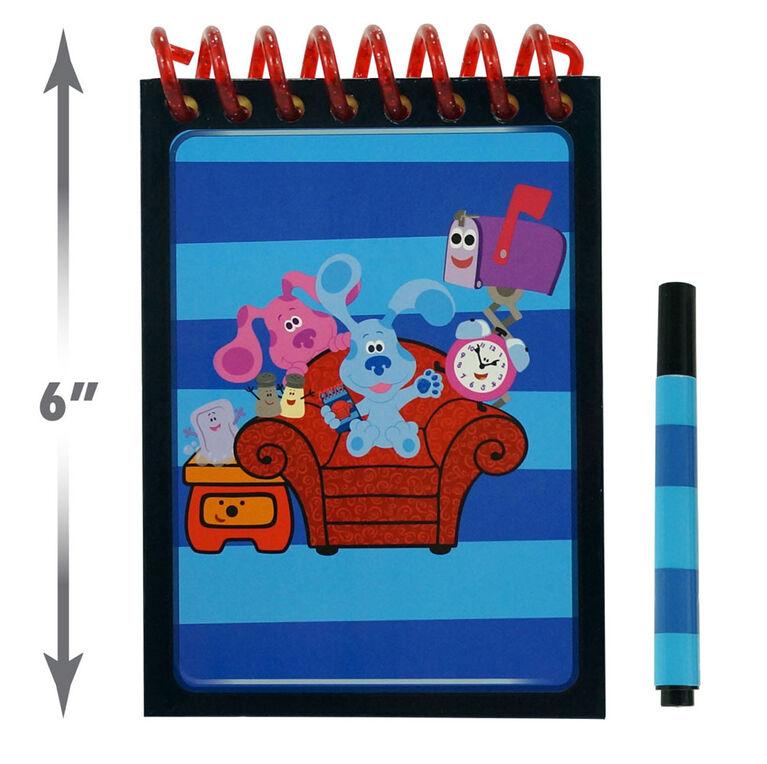 Blue's Clues & You! Cahier Handy Dandy à Effacement Sec - Notre exclusivité - Édition anglaise