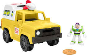 Fisher-Price - Imaginext - Toy Story - Buzz Lightyear et Camion Pizza Planet