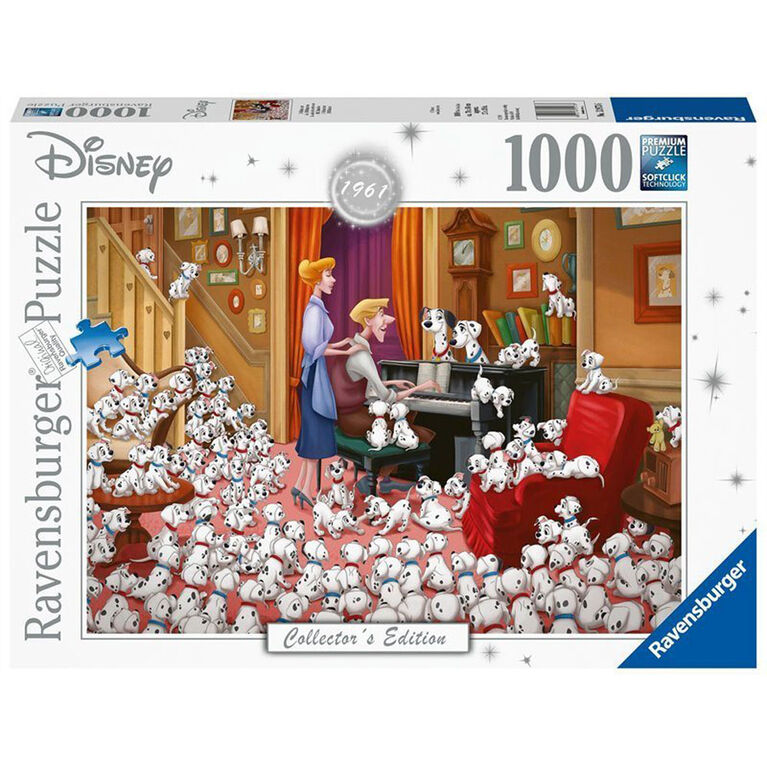 Ravensburger: Disney Collector 101 Dalmations 1000 PC Puzzle