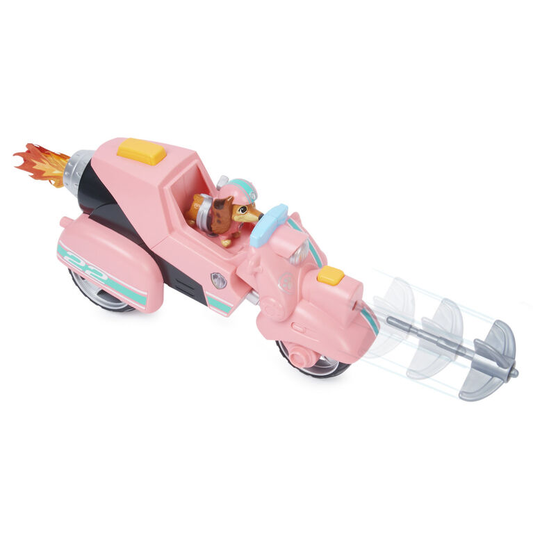 PAW Patrol, Liberty's Movie Toy Car with Collectible Action Figure - R Exclusive
