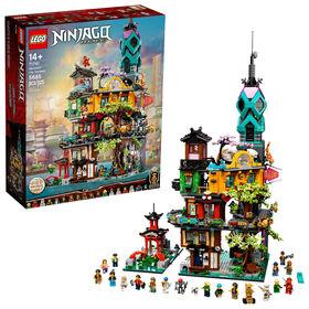 LEGO Ninjago NINJAGO® City Gardens 71741