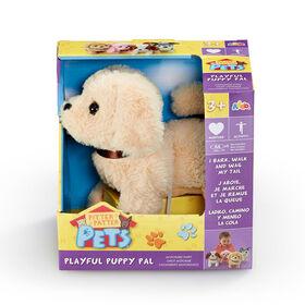 Pitter Patter Pets - Playful Puppy Pal Cream Labrador