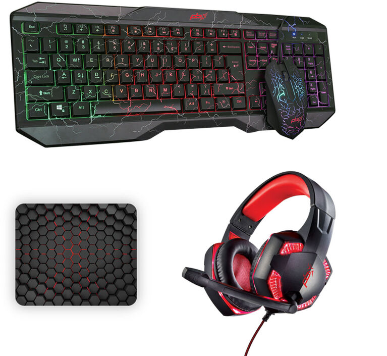 Packard Bell RUCKUS Gaming Keyboard &Headphone Bundle