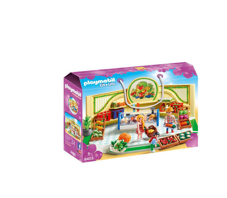 Playmobil - City Life - Grocery Shop