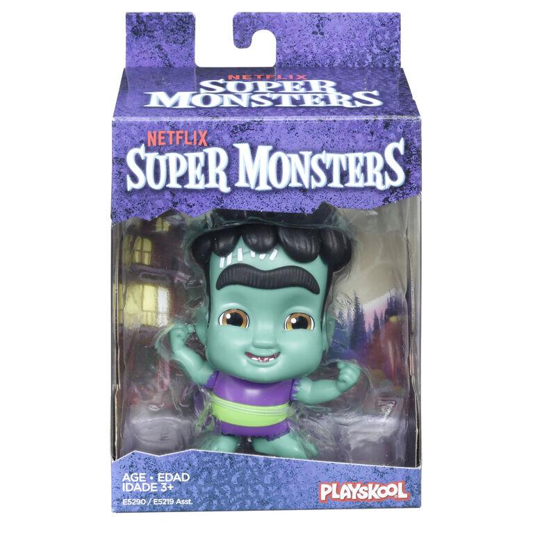 Netflix Super Monsters Frankie Mash Collectible 4-inch Figure