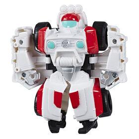 Rescue Bots Academy, figurine convertible de Medix le robot médico