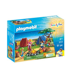 Playmobil - Camp Site with Fire (9153)