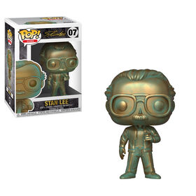 Figurine en vinyle Stan Lee de Marvel par Funko POP!.