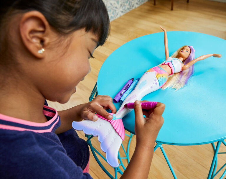 Barbie Dreamtopia Color magic Mermaid Doll
