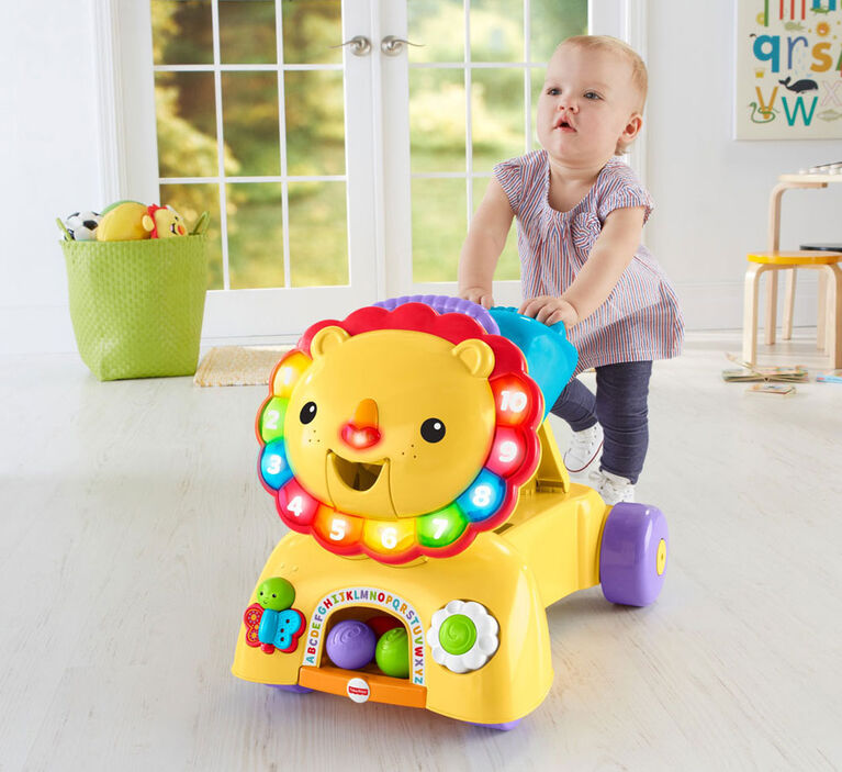 Fisher-Price 3-in-1 Sit, Stride & Ride Lion - English Edition