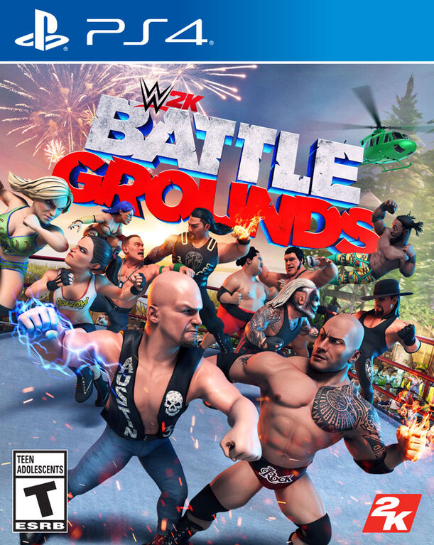 PlayStation 4-WWE 2K Battlegrounds - Édition anglaise