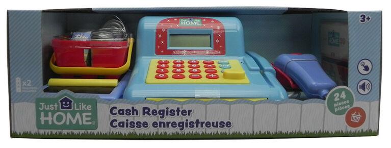 Just Like Home - Cash Register - Blue
