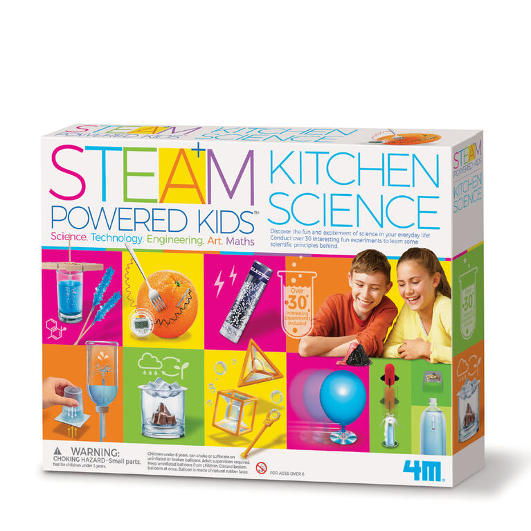 4M Steam Kids Deluxe - Kitchen Science - English Edition