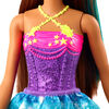 Barbie Dreamtopia Princess Doll, 12-inch, Brunette with Blue Hairstreak