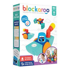 Blockaroo Magnetic Foam Blocks - Tugboat - Édition anglaise