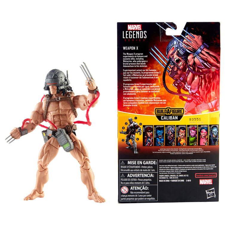 Marvel Legends Series 6-inch Weapon X (X-Men Collection)
