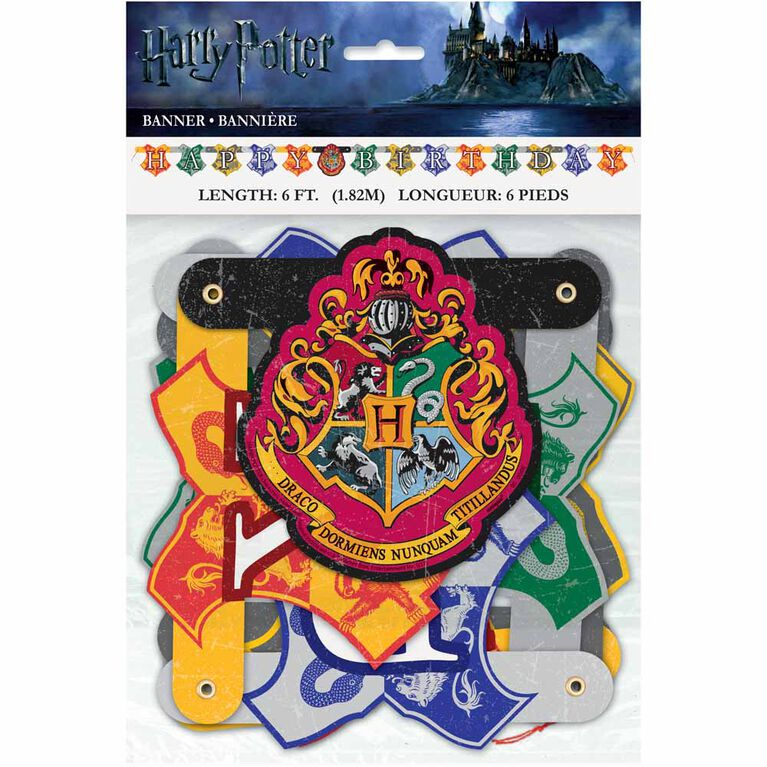 Harry Potter Large Jointed Banner - English Edition
