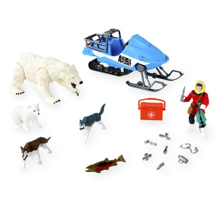 Animal Planet - Polar Bear Rescue Playset - R Exclusive