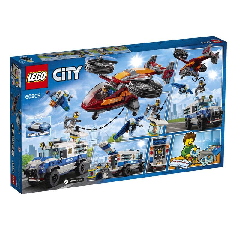 LEGO City La police et le vol de diamant 60209