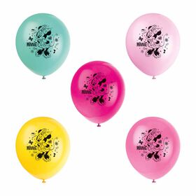 """Minnie  12"""" Latex Balloons, 8 pieces"""