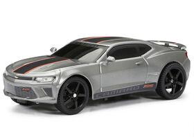 New Bright 1:24 R/C Full-Function Sport Car, Camaro, Silver