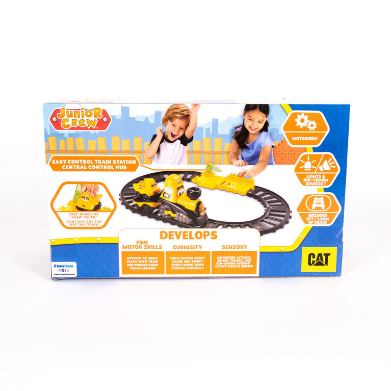 Cat Junior Crew - Power Tracks Friends Train Set