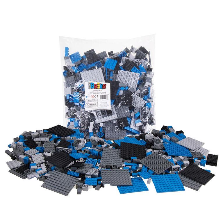Strictly Briks - Brik Set - 1008 Pieces - 8 Clear Colours