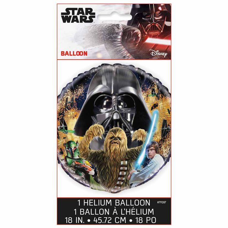 Star Wars Classic Round Foil 18""