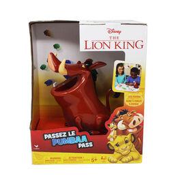Disney - The Lion King - Jeu Passez le Pumbaa pour familles, adolescents et adultes
