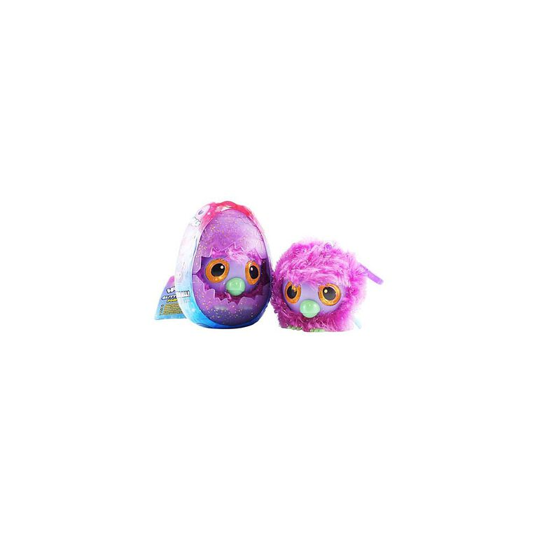 Hatchimals Glittering Garden pom pom peluche clip-on.