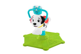 Fisher-Price Bounce and Spin Puppy - Bilingual Edition