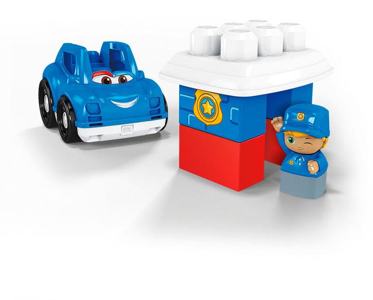 Mega Bloks - Voiture de police - Peter