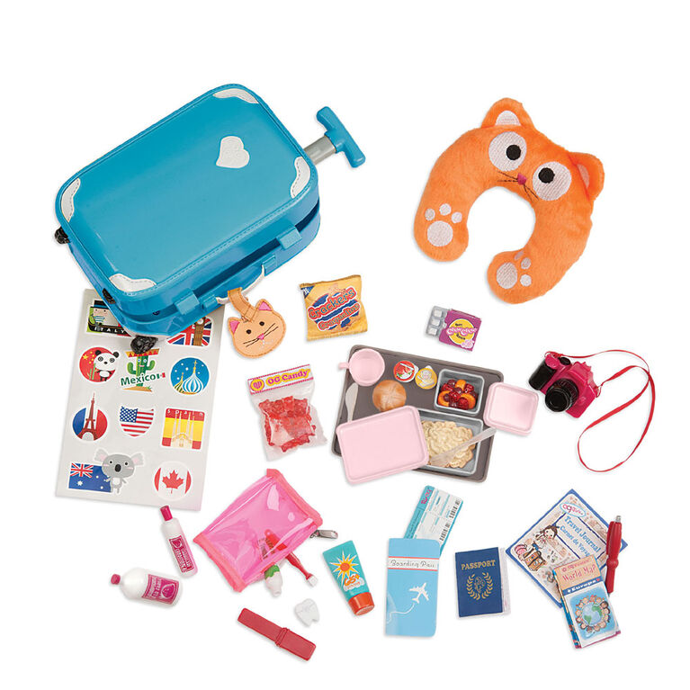 Our Generation, Well Traveled Luggage Set for 18-inch Dolls