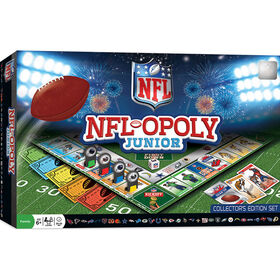NFL Opoly Junior Board Game - Édition anglaise