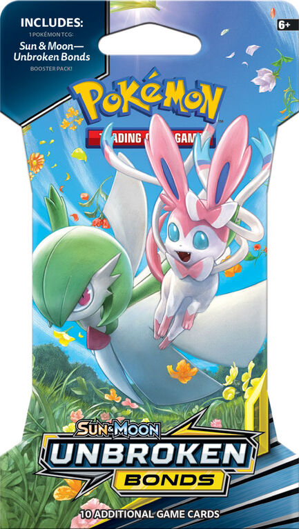 Pokemon Unbroken Bonds Blister Pack