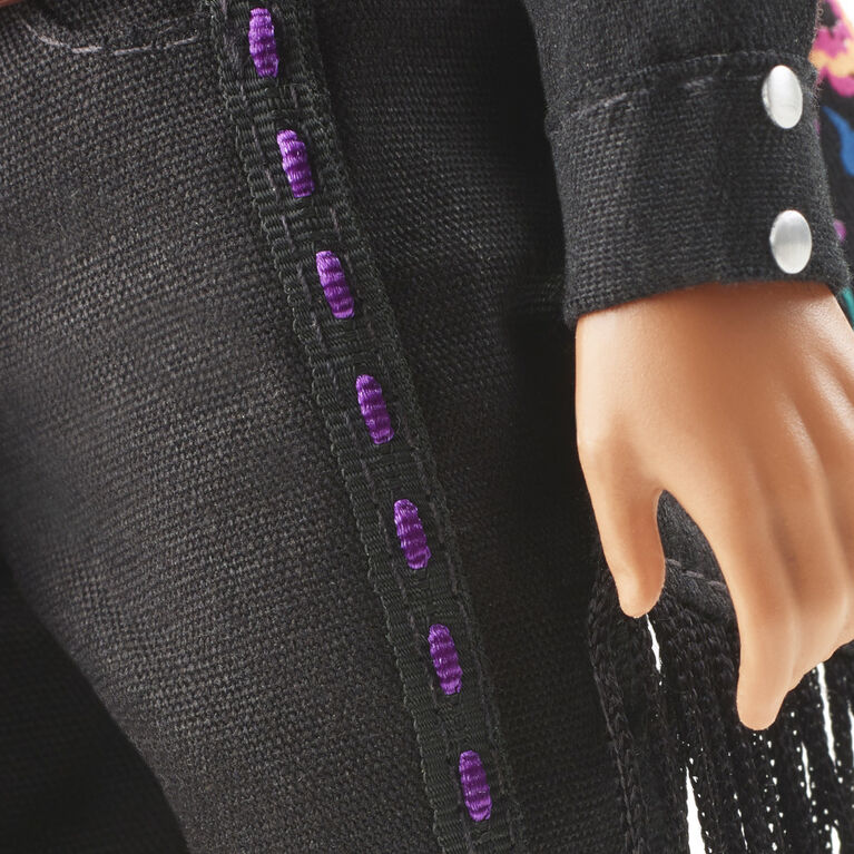 Barbie 2021 Dia De Muertos 2021 Ken Doll (12-in) Wearing Embroidered Shirt and Serape