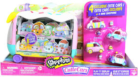 Shopkins Cutie Cars Play 'N' Display Rainbow Cake Racer