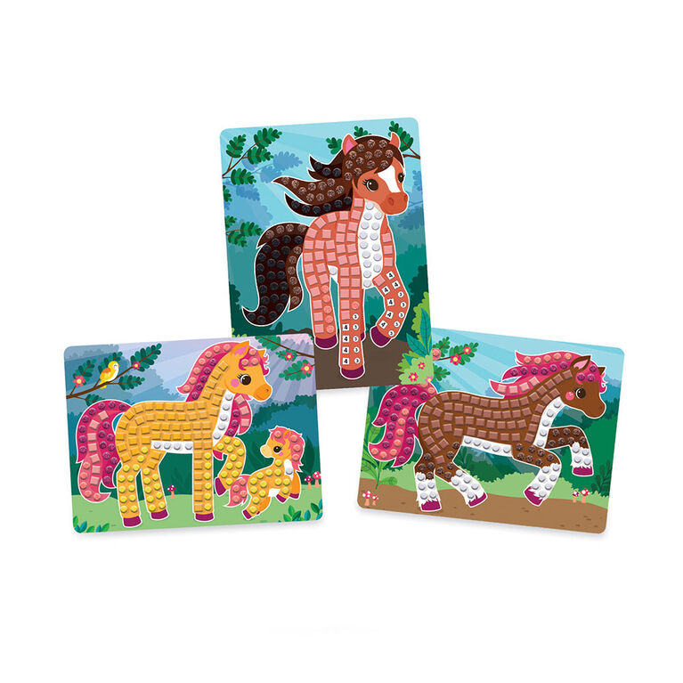 Sticky Mosaics Travel Horses - R Exclusive
