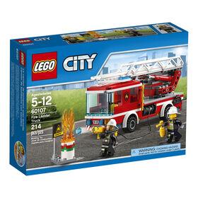 LEGO City Le camion de pompiers avec échelle 60107