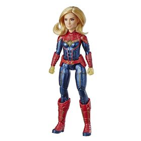 Captain Marvel - Photon Power FX Captain Marvel Electronic Super Hero Doll